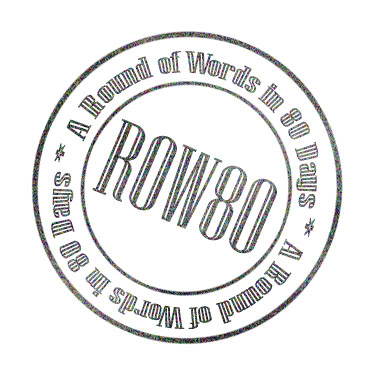 A Round of Words in 80 Days logo