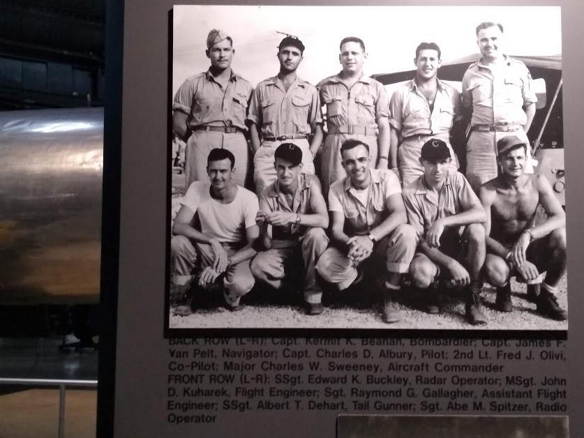 Bockscar crew (Nagasaki raid)